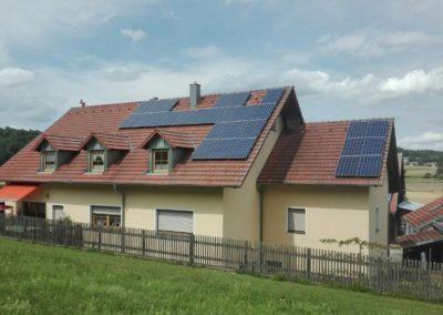 referenzbild galerie photovoltaikanlage auf dach